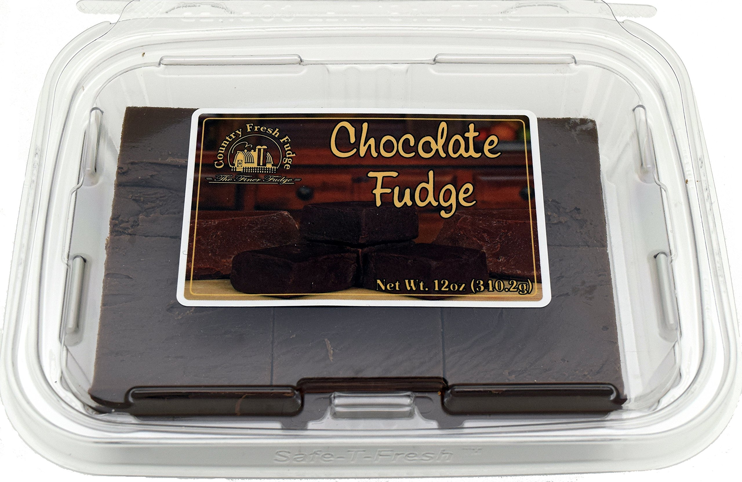 Country Fresh Fudge Chocolate, 6 Pound (Pack of 8) by Country Fresh Fudge