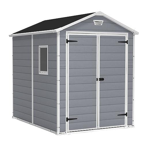 wood storage sheds kits amazon com
