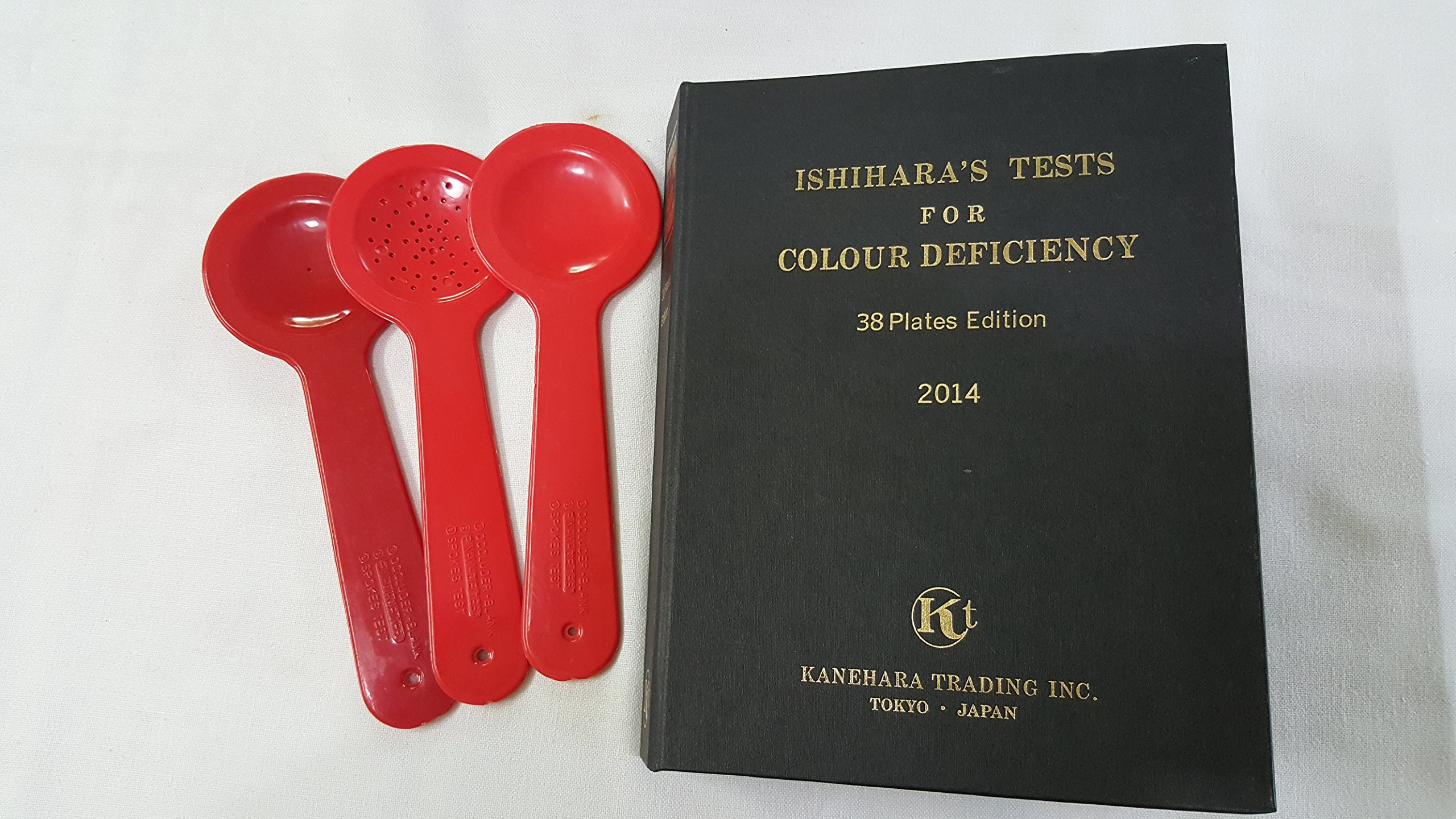 Ishihara Test Chart Book For Color Deficiency 38 Plates Latest
