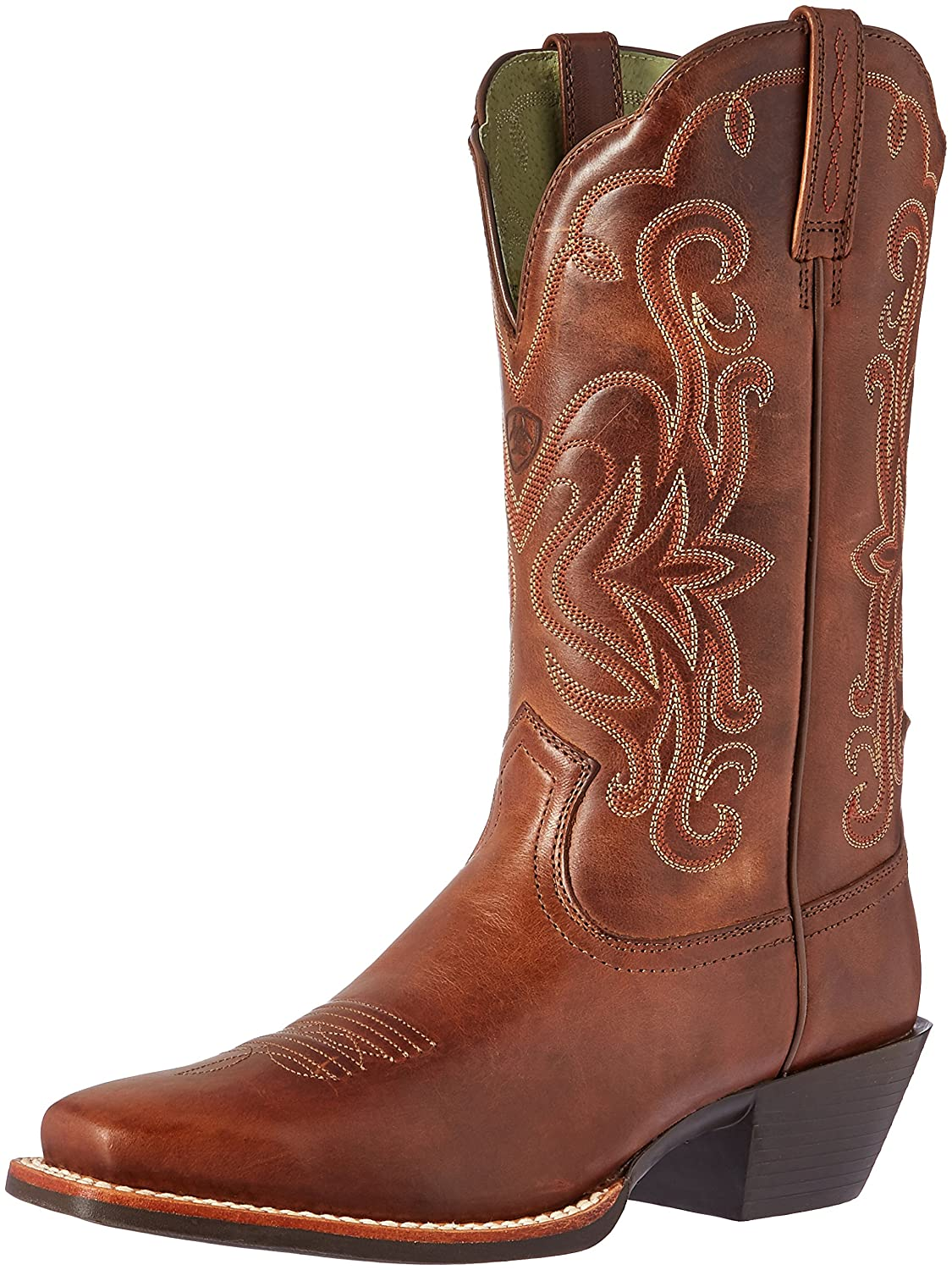Ariat Women's Legend Western Cowboy Boot B004BNNJF0 7.5 C US|Russet Rebel