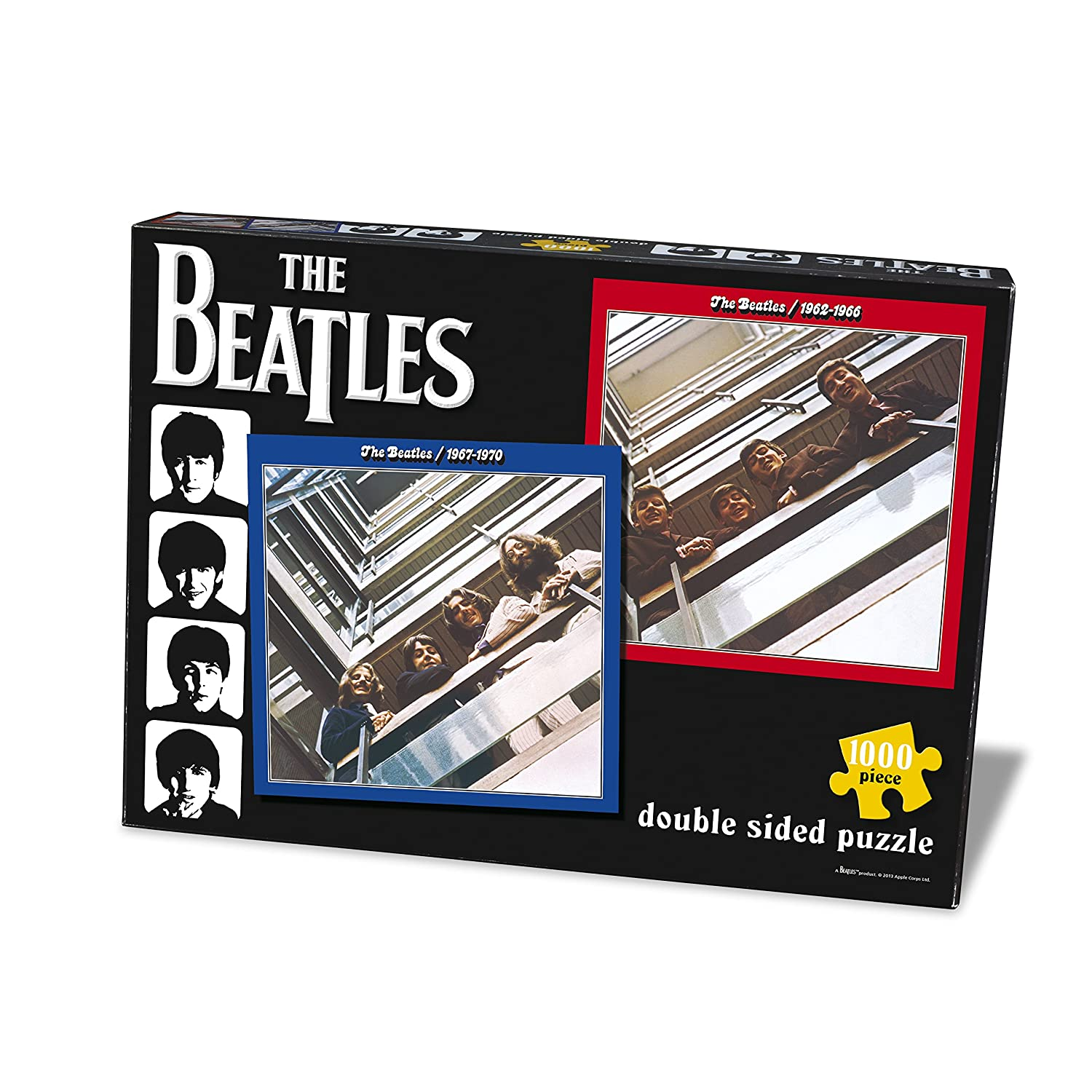 Paul Lamond Beatles Red and Blue Puzzle (1000 Pieces)
