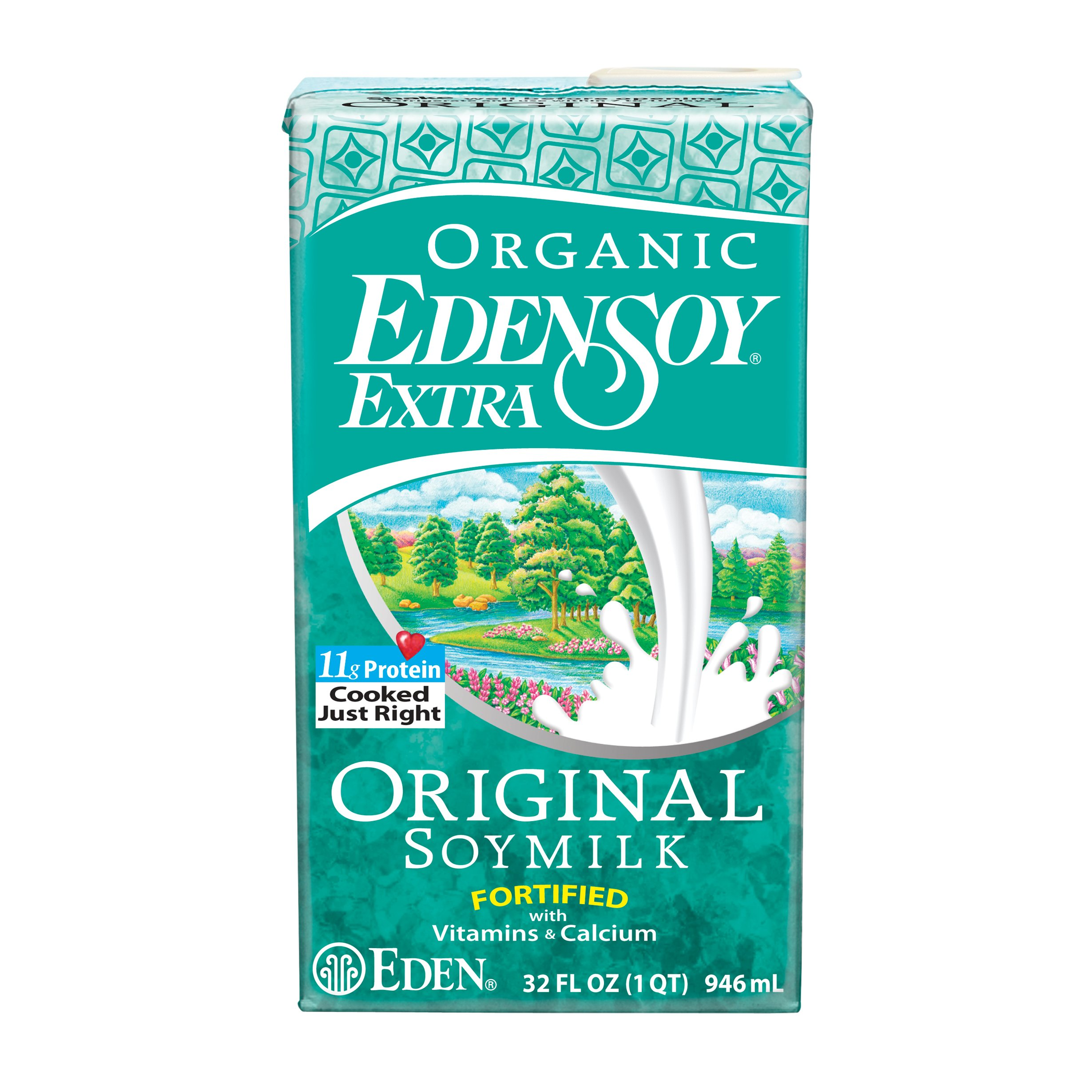 Eden Original Soymilk Extra Organic, 32-ounces (Pack of6)