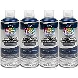 Bulk buy: Tulip ColorShot Outdoor Upholstery Spray Paint 8 oz. 4-pack, Navy
