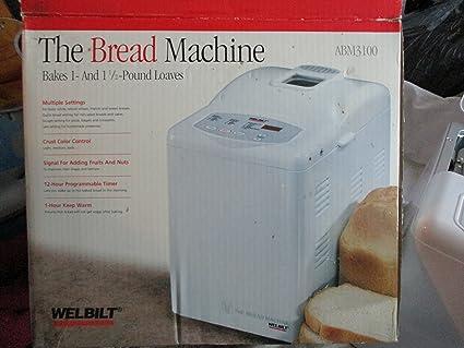 amazon com welbilt the bread machine model abm3100 kitchen rh uedata amazon com Bread Machine Welbilt ABM 8200 Manual Wel-Bilt Company