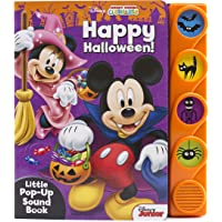 Disney Mickey Mouse Clubhouse - Happy Halloween! Sound Book - PI Kids