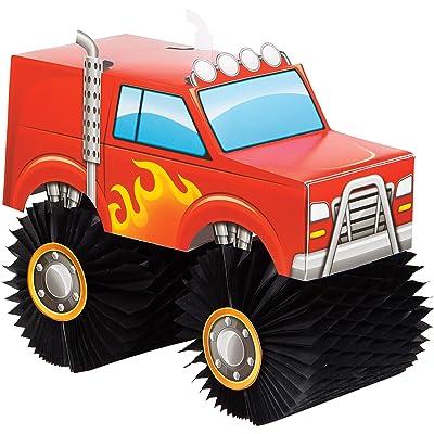 Monster Truck Centerpiece, 1 ct: Toys & Games