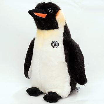 Höhe ca. 30cm Stofftier Kaiserpinguin Kuscheltier Pinguin Plüschtier