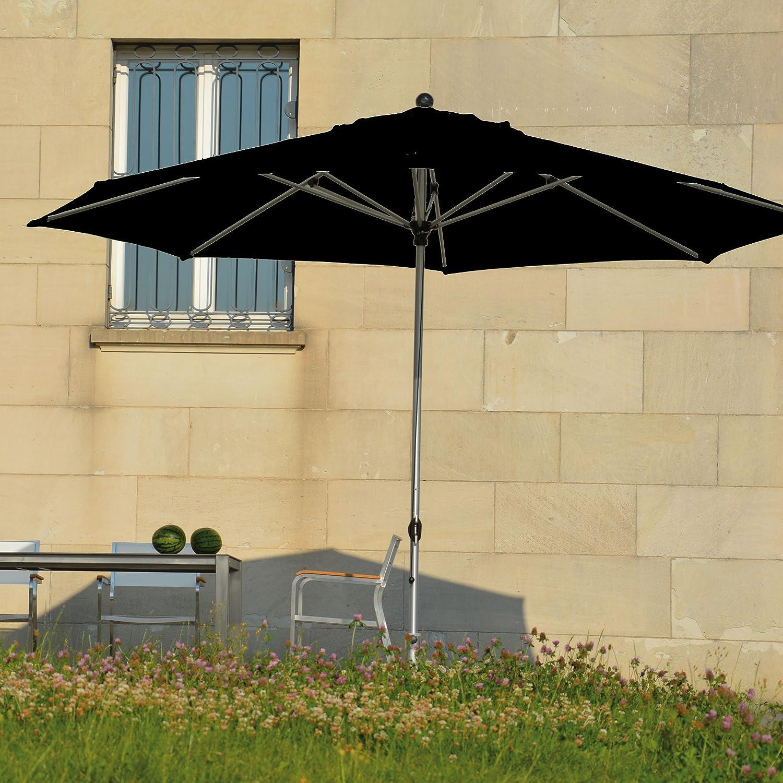 Lino Sonnenschirm ø 350 cm - schwarz