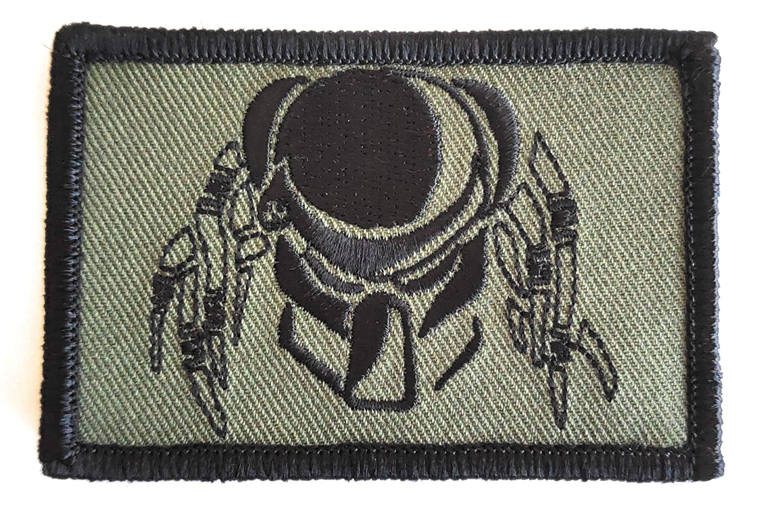 Tactical Predator Camo Green Operator Morale Gear Patch Depredador Parche T/áctico Bordado Titan One Europe