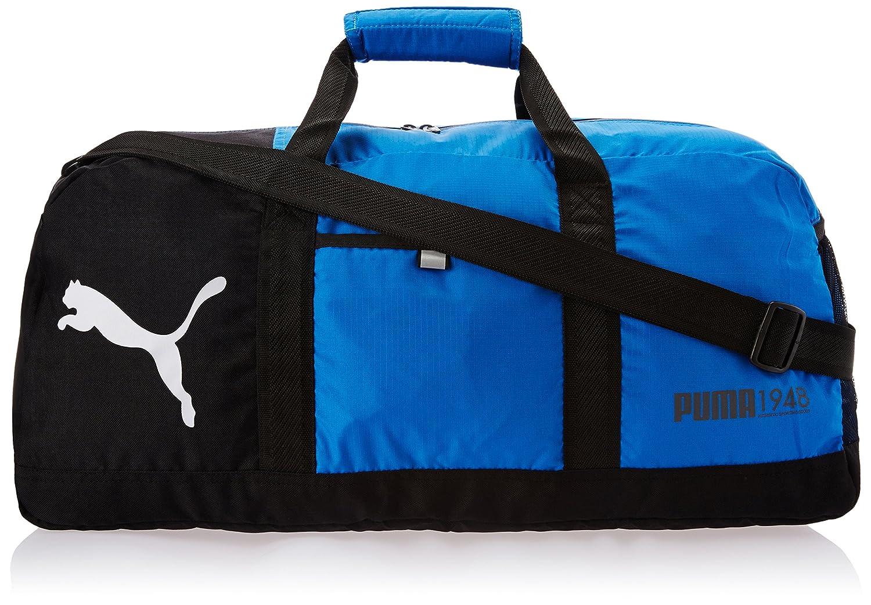 5fe710c5dfc19 PUMA Foundation Sporttasche Tasche Reisetasche Fitnesstasche blau schwarz   Amazon.de  Koffer