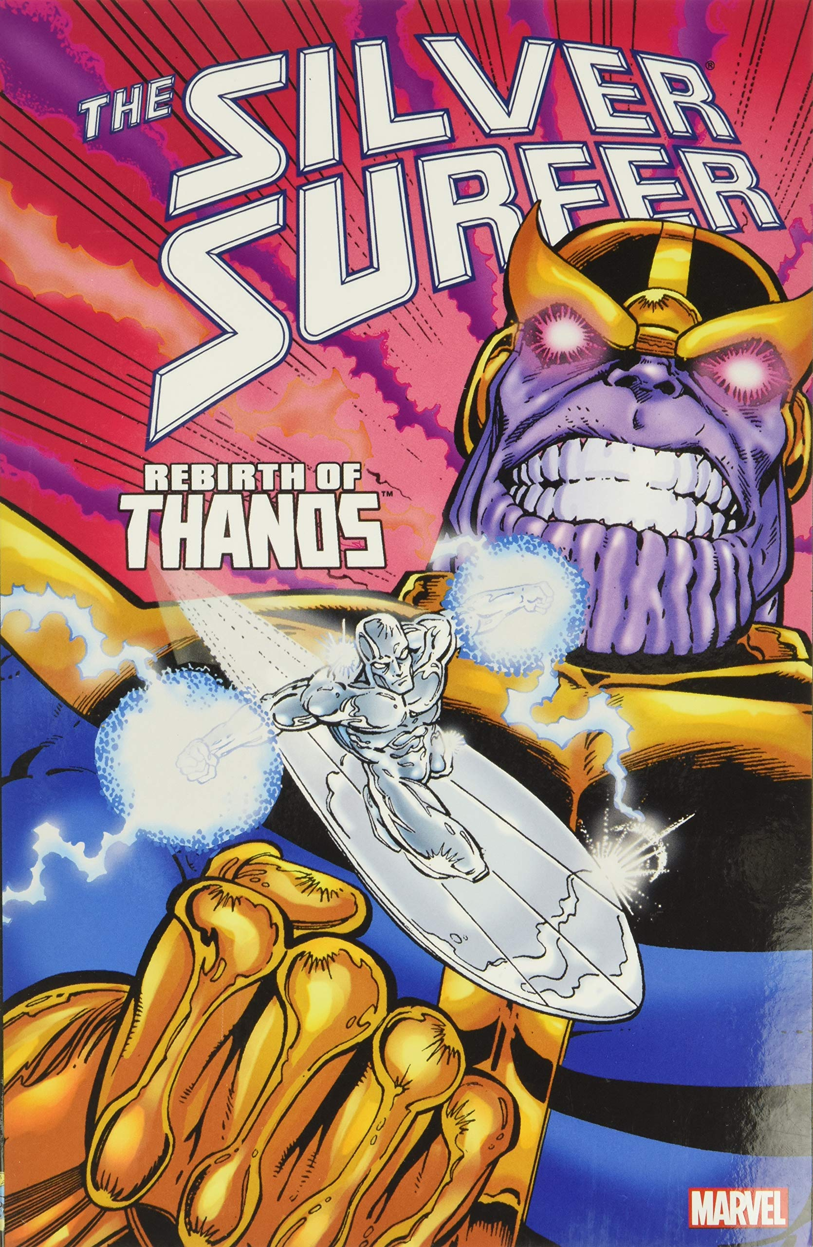 Rebirth Of Thanos-HB Marvel Premiere Classic Silver Surfer