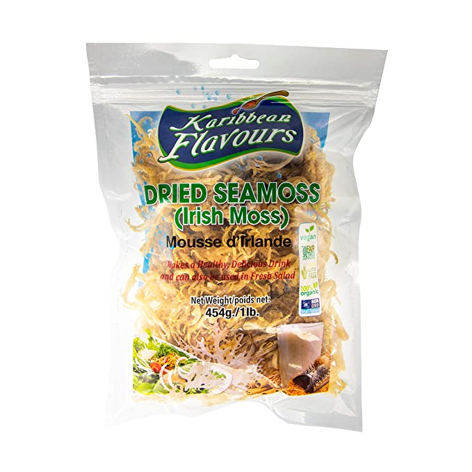16 Ounce STARWEST BOTANICALS Organic Irish Moss Powder
