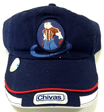 Club Chivas de Guadalajara navy authentic cap gorra seleccion youth (yotuh)