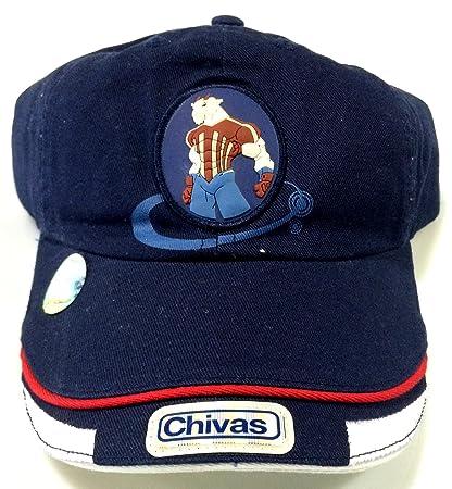 Club Chivas de Guadalajara navy authentic cap gorra seleccion youth (yotuh)