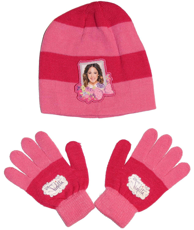 Disney Violetta Mütze & Handschuhe Set ONE SIZE in verschiedenen Farben