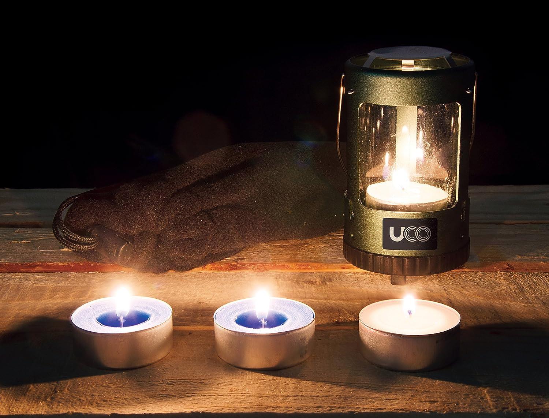 Amazon.com : UCO Mini Candle Lantern Kit Value Pack with 4 Candles ...