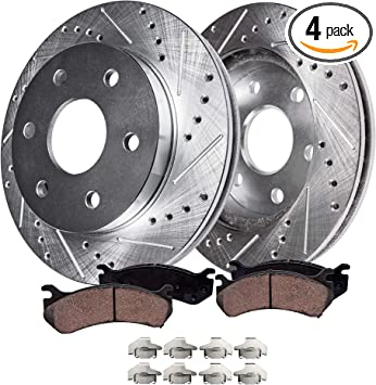 Front TEC Ceramic Brake Pads For Buick Cadillac Chevy Nissan