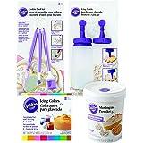 Wilton Sugar Cookie Decorating Kit, 15-Piece, Cake Decorating Supplies