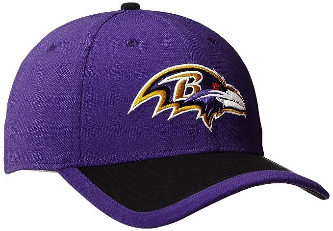 buy online e8d80 7d307 Amazon.com   New Era NFL 2015 Reverse Team Color 39Thirty Stretch Fit Cap    Clothing