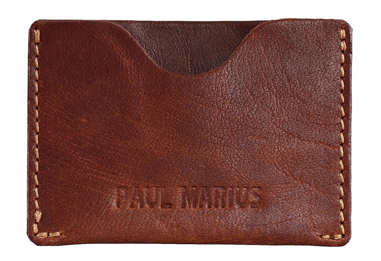 LePorte-cartes GABIN en cuir souple carte de crédit bancaire fidélité visite PAUL MARIUS