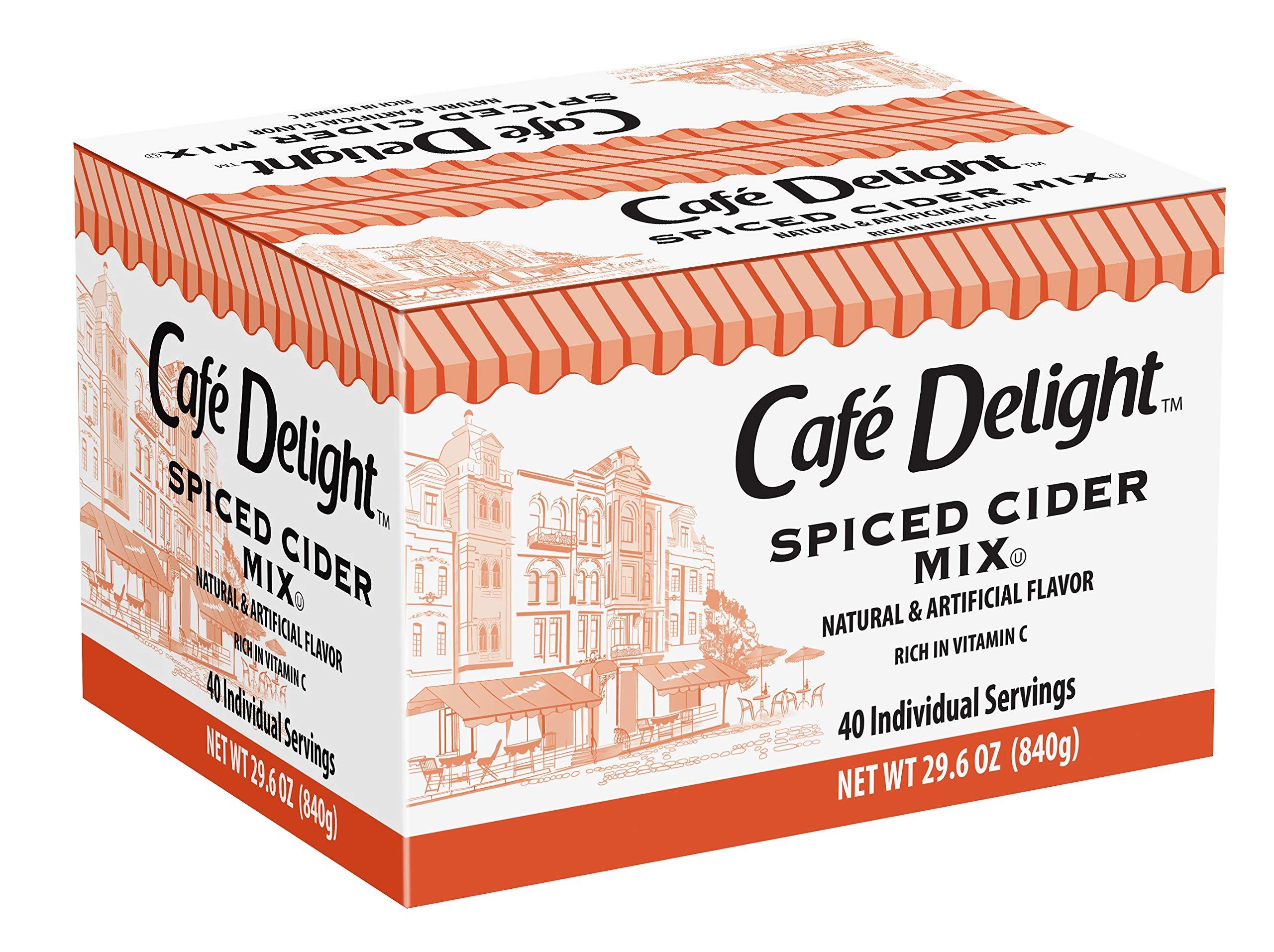 Café Delight House Blend Hot Cider, 40 Count (Pack of 6)