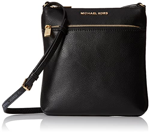 62a9ec9a6939 Michael Kors Riley Leather Flat Crossbody Black …: Michael Kors: Amazon.ca:  Shoes & Handbags