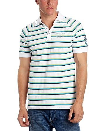 ESPRIT s35607 polo para hombre camiseta para hombre Blanco blanco ...
