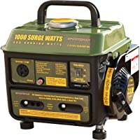 Sportsman 1,000/900-Watt Gasoline Powered Portable Generator with 2-Stroke Brushless Motor (Green)