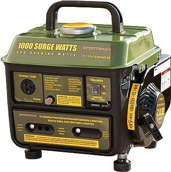 Sportsman GEN1000 1000 Watt Gasoline Portable Generator