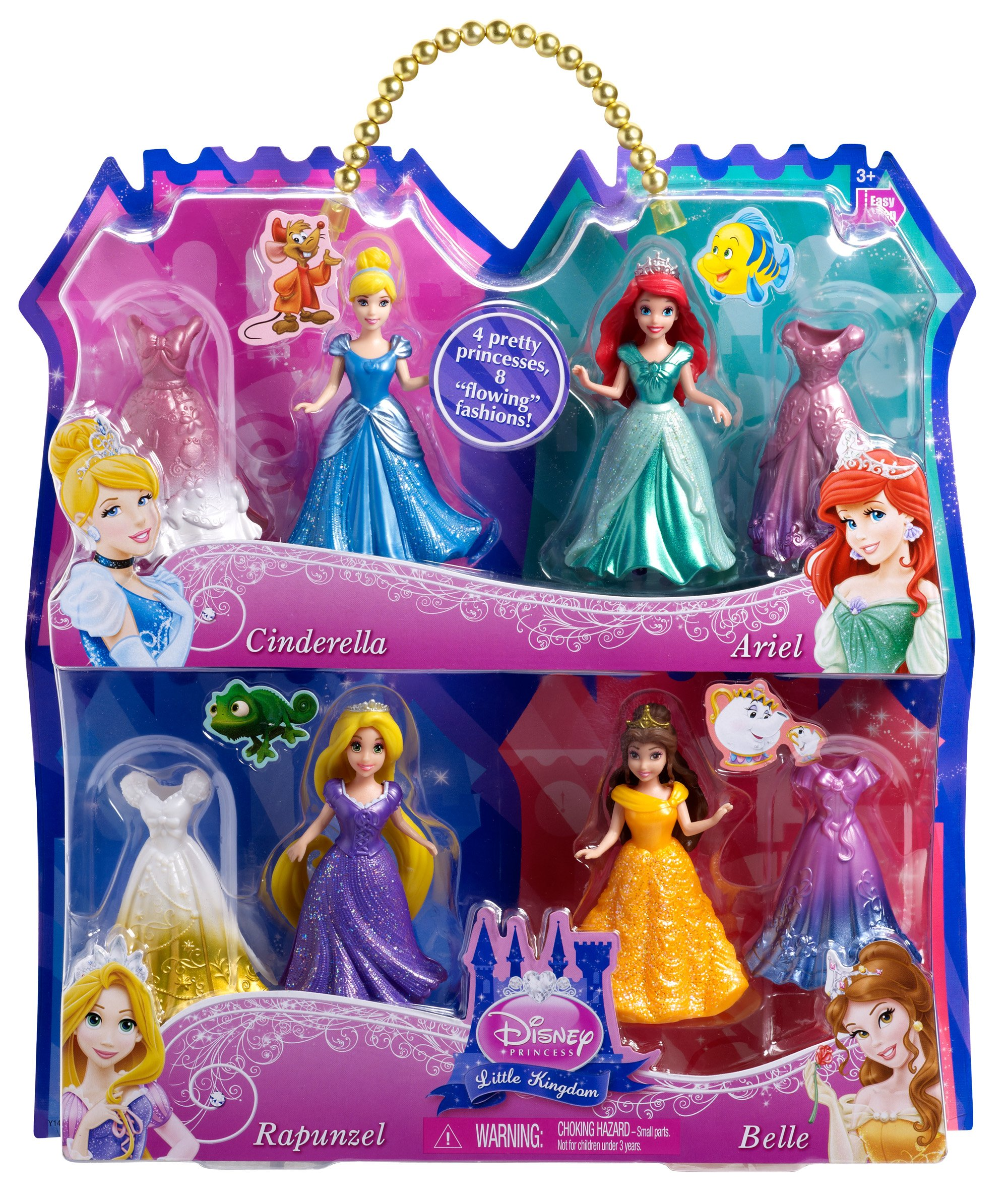 Amazon price history for Disney Princess Magiclip 4-Pack Giftset