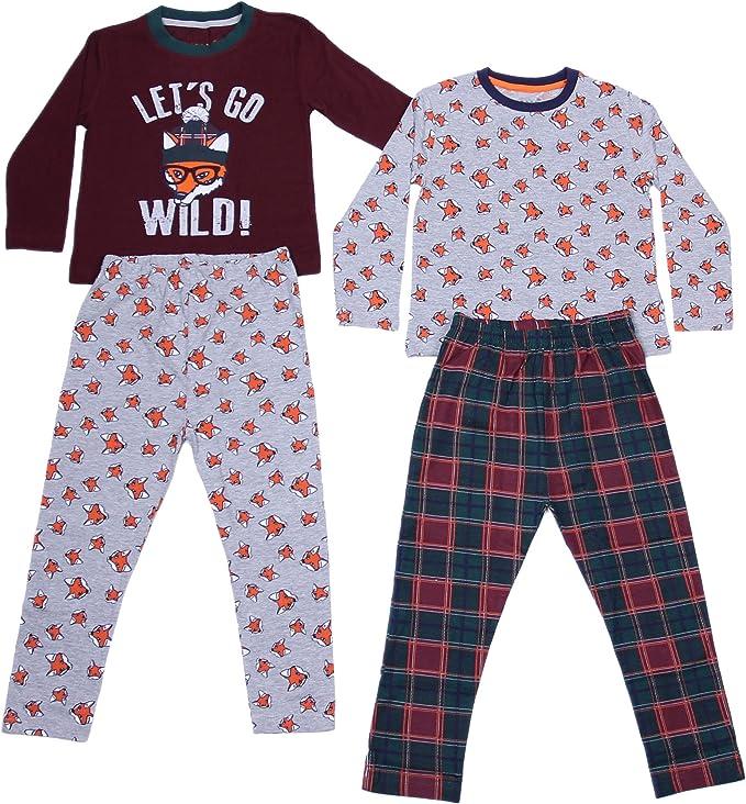 Primark - REBEL - Pijama Dos Piezas - para niño Multicolor 4-5 Años 110 cm: Amazon.es: Ropa y accesorios