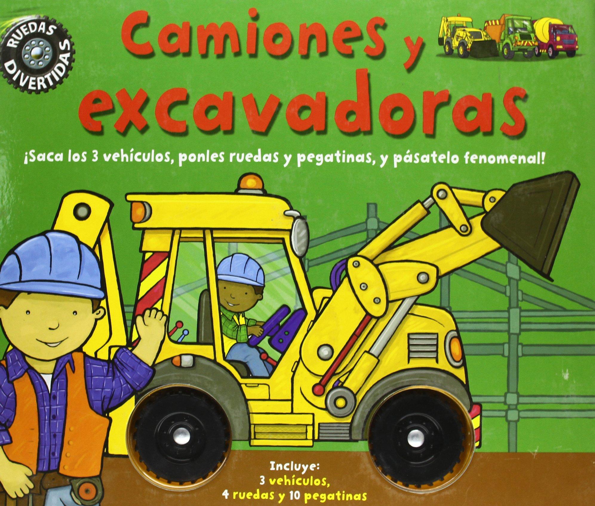 Camiones y excavadoras (Spanish) Hardcover