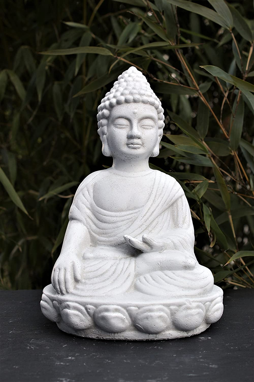 Statuen for Steinfigur buddha garten