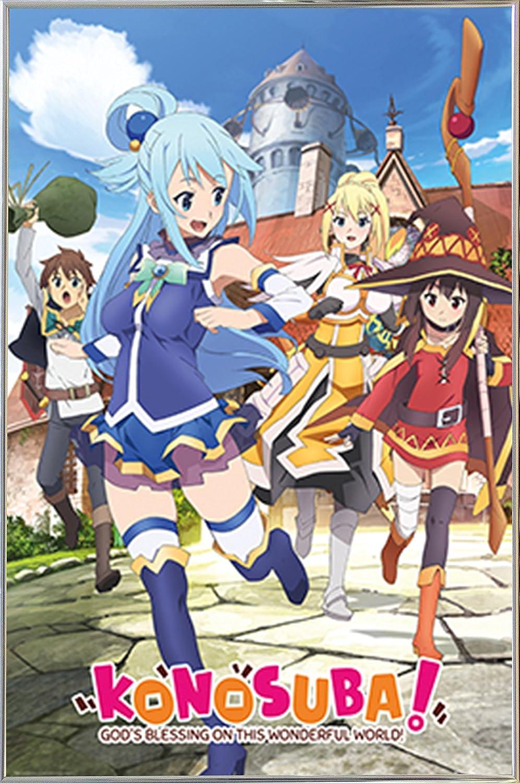 Kono Subarashii Sekai Ni Shukufuku Wo Poster Anime Top Wallpaper