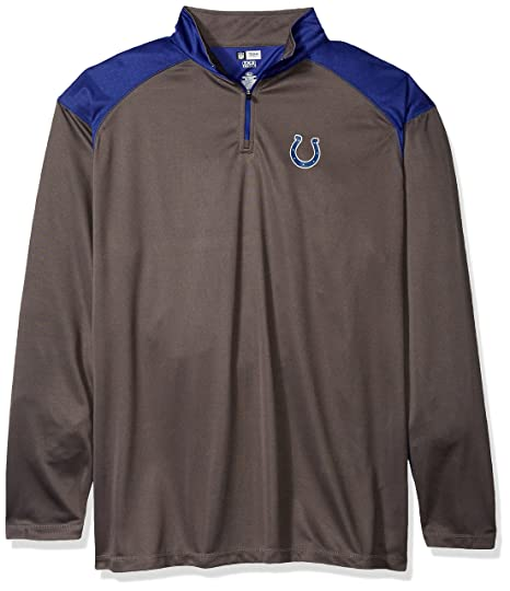 aa59f758 NFL Mens Colts 1/4 Zip Poly Jersey