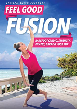 Amazon.com: Jessica Smith Feel Good Fusion: Cardio descalzo ...