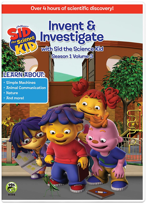 Amazon.com: Sid the Science Kid: Invent & Investigate V.3: Jim ...