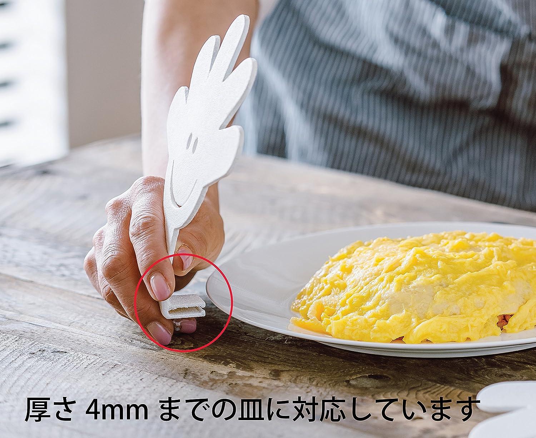 型崩れの心配なし。ラップが食べ物に触れるのを防ぐキッチンアイテム「ママの手」