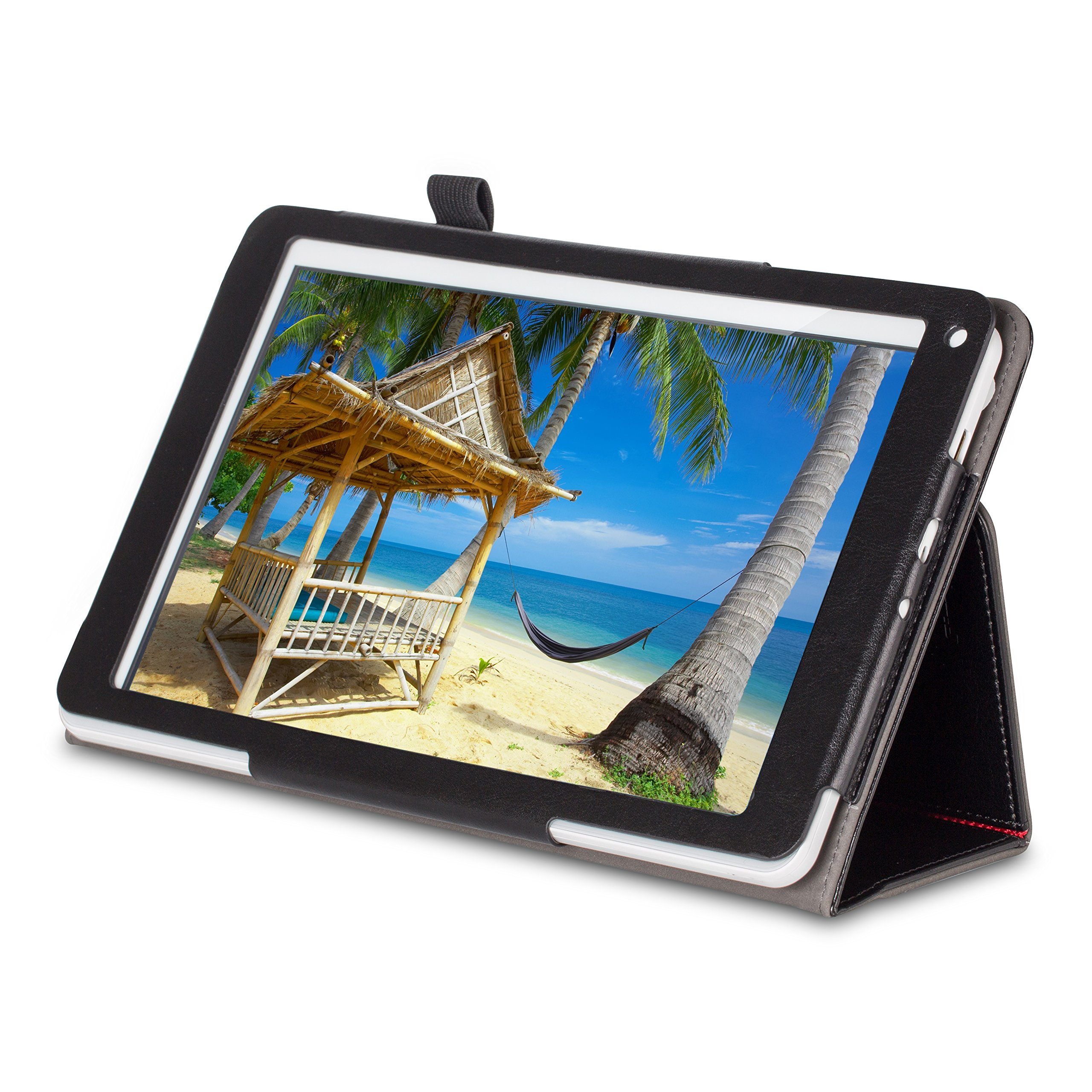 [3 Bonus items] Simbans Presto 10 inch tablet Android tablet computer 10.1 inch IPS screen, Quad Core, HDMI, Tablet PC, 2+5 MP Camera, GPS, WiFi, USB, Bluetooth (1GB RAM and 32GB Disk) by Simbans