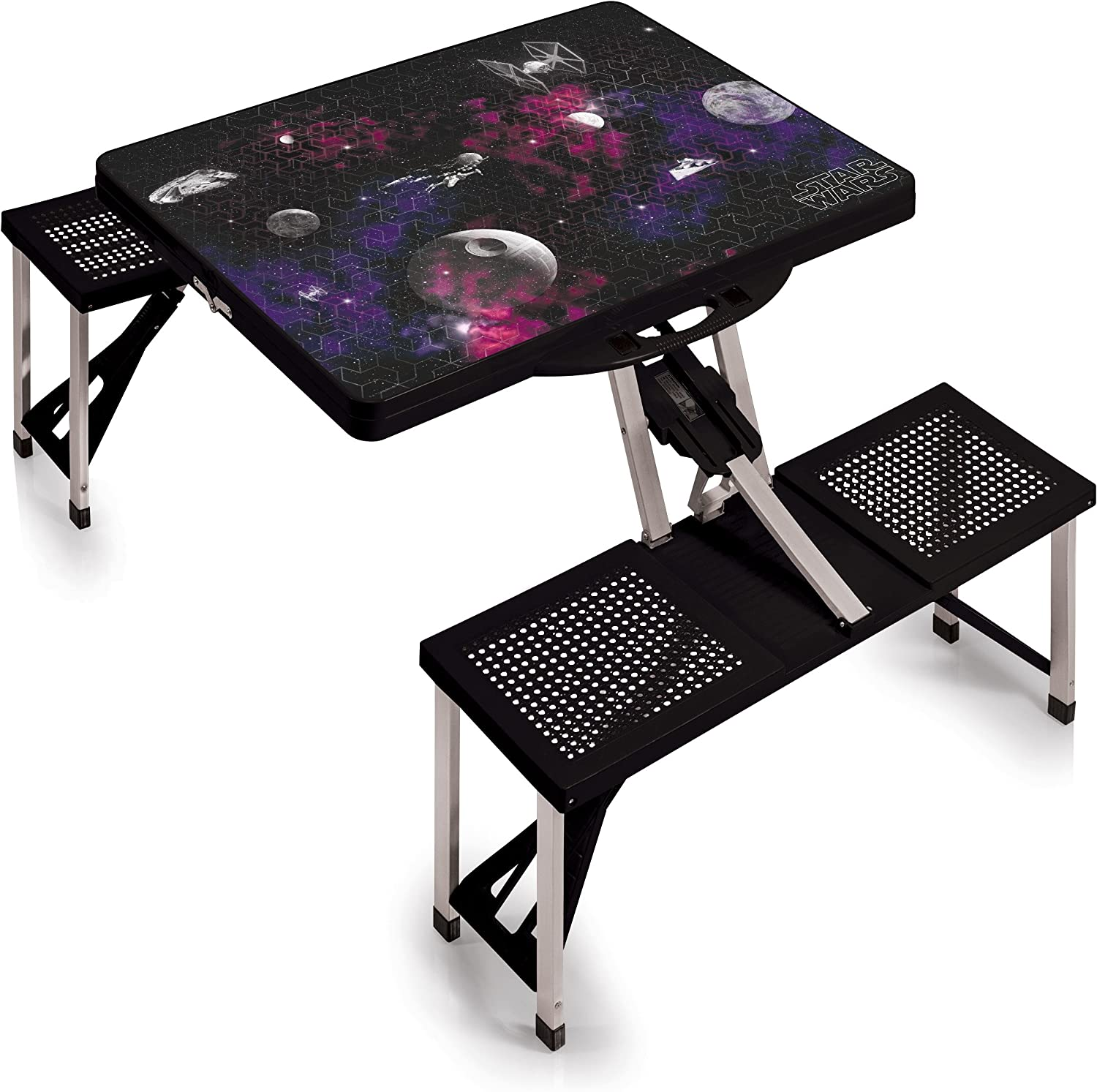 Lucas/Star Wars Portable Folding Picnic Table with Seating for 4