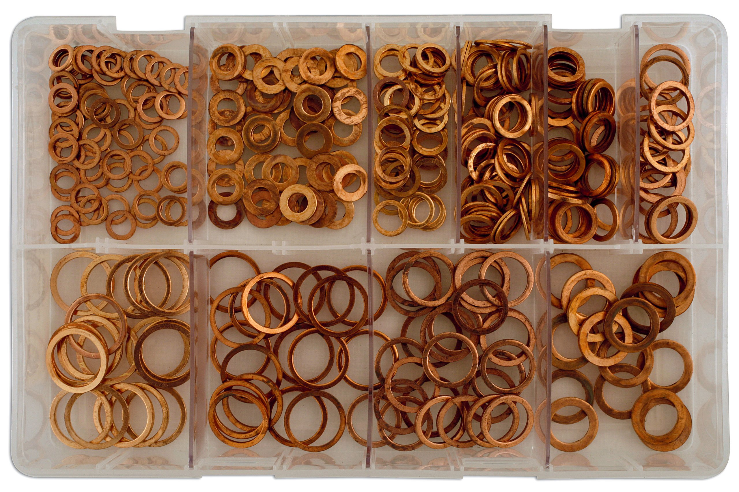 Connect 31871 Assorted Diesel Injection Washers