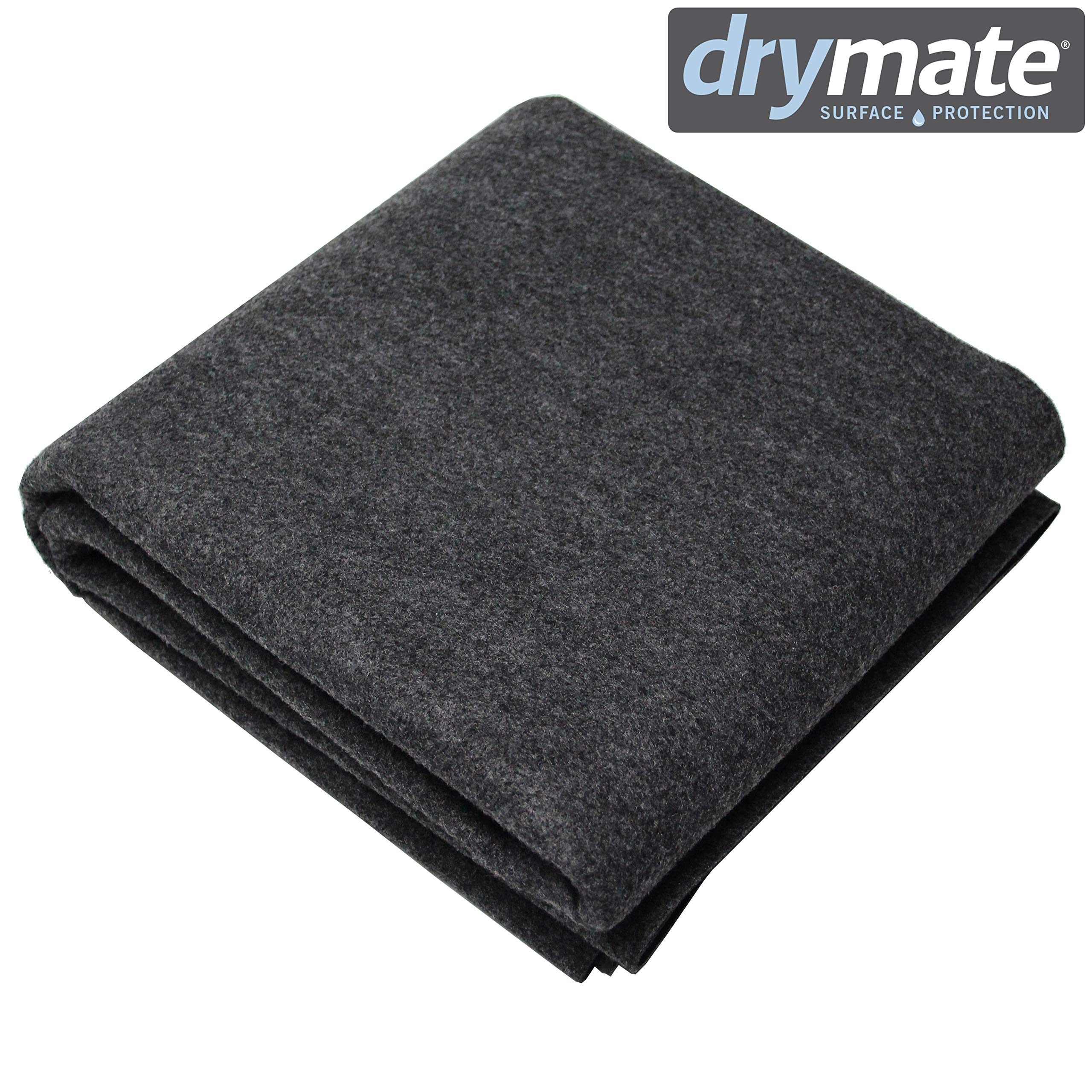 Drymate WMCB48100 Box Liner Mat - Machine Washable, Reusable and Absorbent Dog Whelping Pad - Can Be Cut to Fit, USA Made, 48 x 100 by Drymate