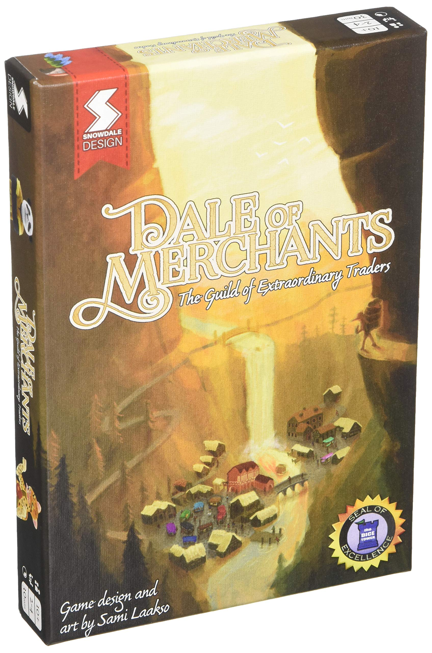 Snowdale Design Dale of Merchants The Guild of Extraordinary Traders Card Games