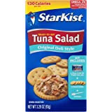 StarKist Ready-to-Eat Tuna Salad Kit, Original Deli Style (Pack of 12)