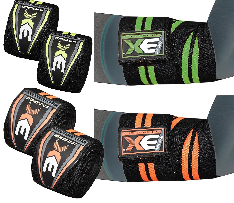 Professional Choice 3X Sport Ellbogen Arm Wickelt Wraps Bandagen Gymnastik Fitness Bandage Elbow
