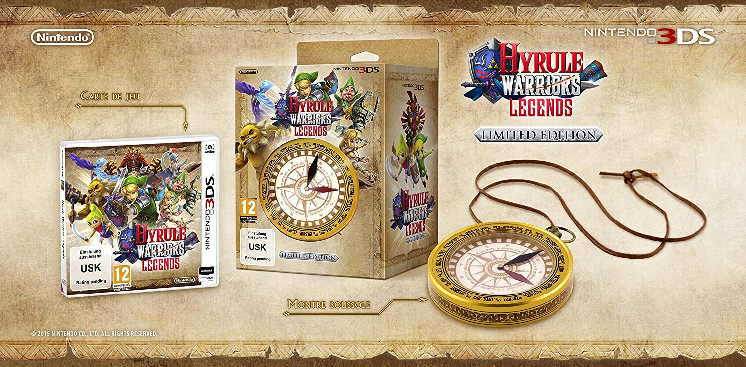 Hyrule Warriors Legends - Pack Limitado, Incluye Reloj ...