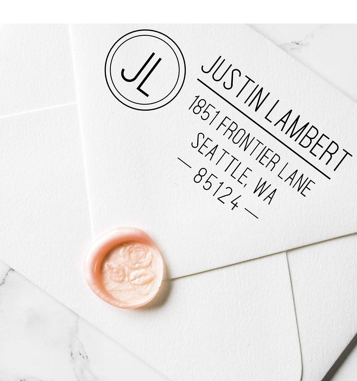 Address Stamp Wedding Return Address Stamp Self Inking Self Inking Address Stamp Heart Self Inking Personalized Wedding Stamp 3.00 X 1.50
