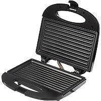 Amazon Brand - Solimo Non-Stick Grill Sandwich Maker (750 watt, Black)