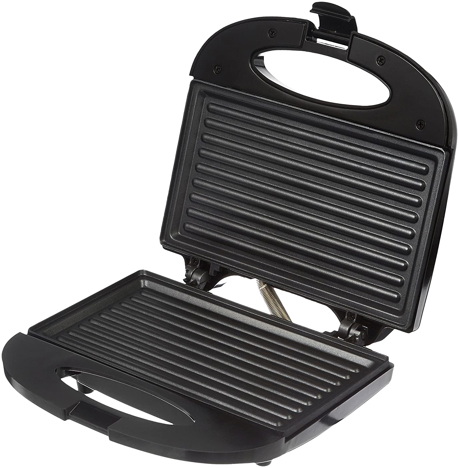 Buy Amazon Brand Solimo Non Stick Grill Sandwich Maker 750 Watt Black Online At Low Prices In India Amazon In