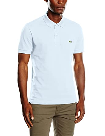 Lacoste PH4012, Polo Homme, Noir (Cachou Chine), X-Small (Taille Fabricant : 2)